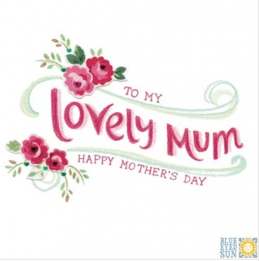 To my Lovely Mum Happy Mother's Day - Tahiti greeting card