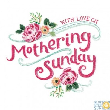 With love on Mothering Sunday - Tahiti greeting card