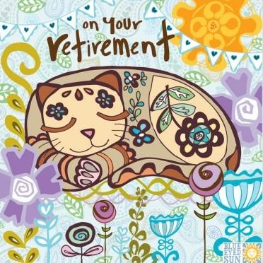 on your retirement - Marimba greeting card