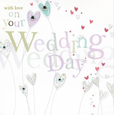 With love on your Wedding Day - fandango greeting card