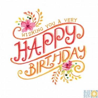 Wishing you a very Happy Birthday - Tahiti greeting card